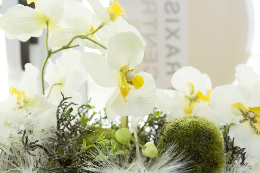Blumenstrauss vor Logo der Praxis Central - Frauenarzt Frauenärztin Gynäkologie Pränataldiagnostik Essen